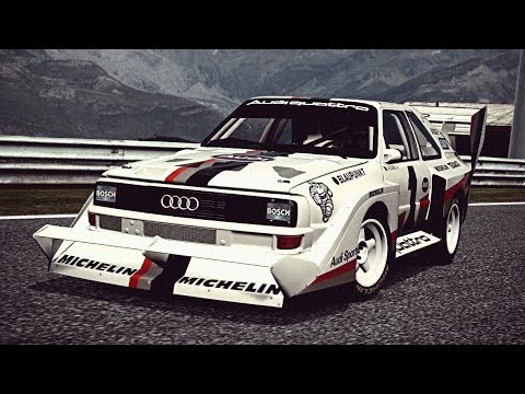 """Audi Sport Quattro S1 E2 """"PIKES PEAK"""""""