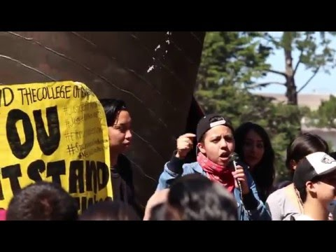 SF State Ethnic Studies Rally