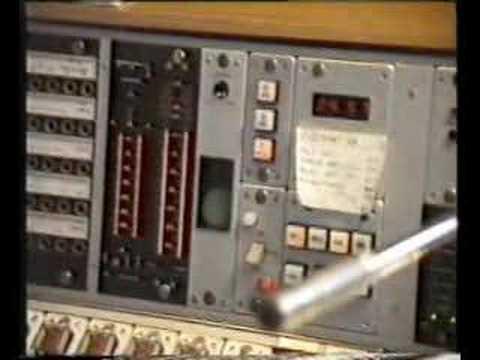 Radio studio tour, NRK Norway 1986