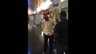 Dancing Dude Knocks himself out
