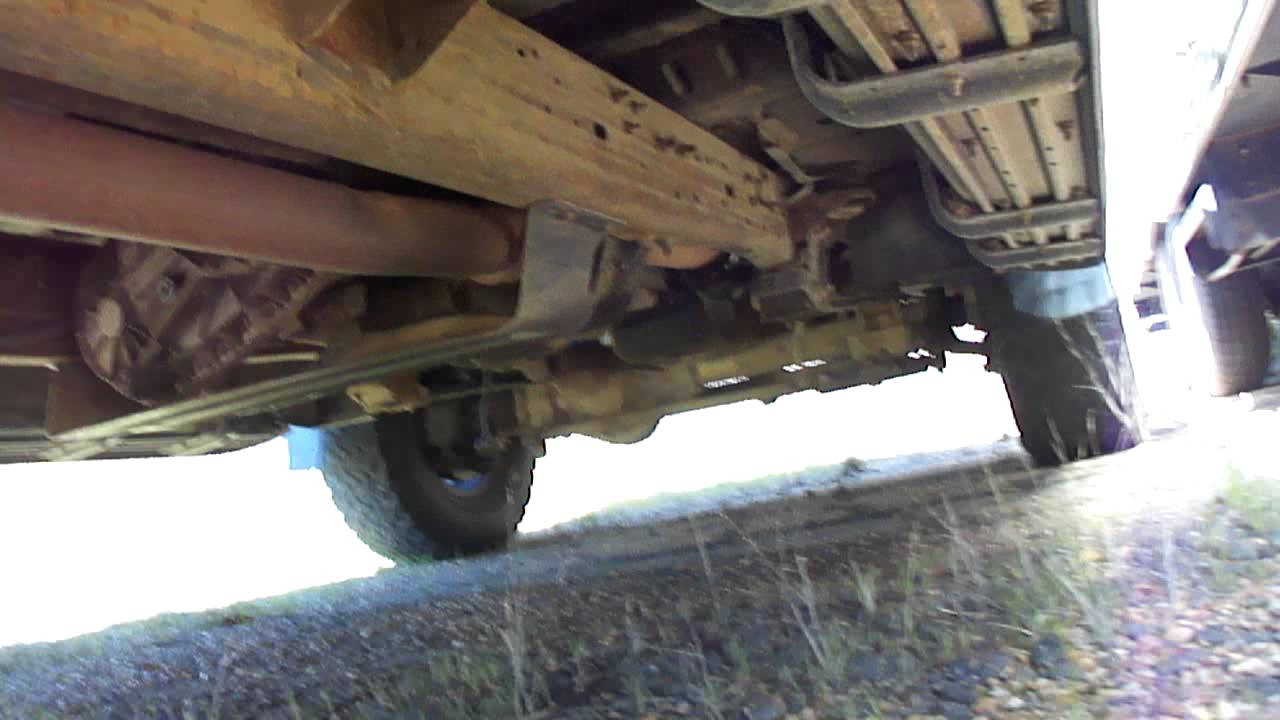 1999 Ford F250 Undercarriage Youtube