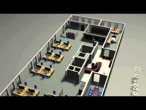 Your Office Plan In 3D