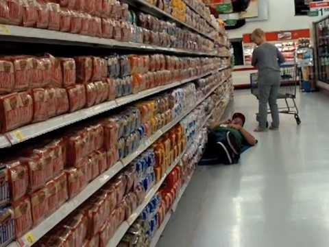 Asleep in The Bread Aisle. Suge White version