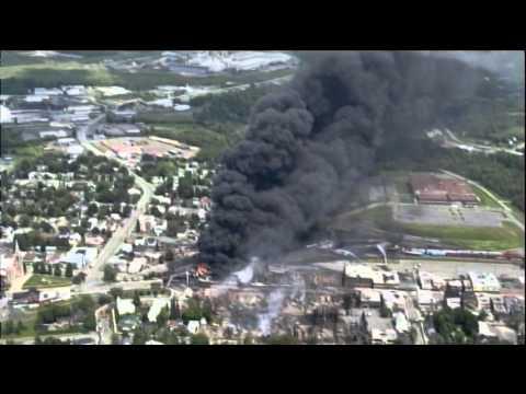 Casselton, N.D. Train derailment explosion Oil Crude BNSF.
