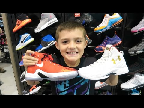 338d7a0f6bb3ff Basketball Shoe Shopping - YouTube