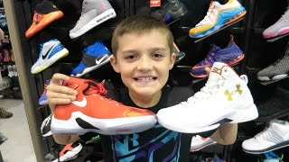 Basketball Shoe Shopping