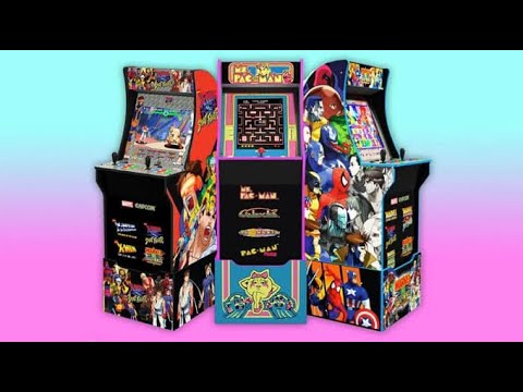 Arcade1Up New Game Cabinets For 2021 Arcade 1up from rarecoolitems