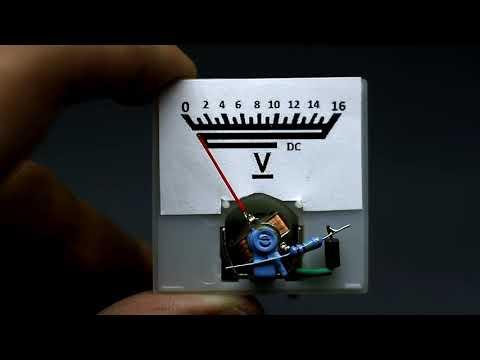 Аналоговый мультиметр своими руками
