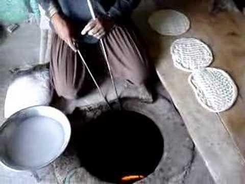 Cooking Afghani Bread