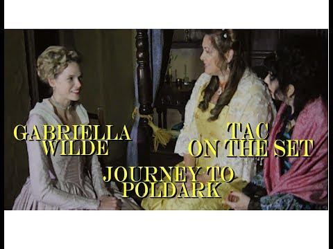 POLDARK Series 3  Gabriella Wilde Caroline    Journey to Poldark