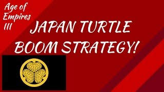 Japan Turtle Boom Strategy! AoE III