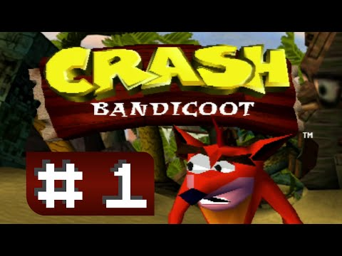 Let's Play Crash Bandicoot Part 1 - How do save game?
