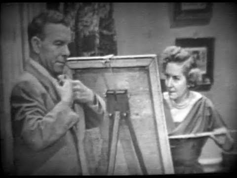 "BURNS & ALLEN - S1, Ep02: ""Gracie the Artist"" - VERY RARE episode! with Bob Fosse (10/26/50)"
