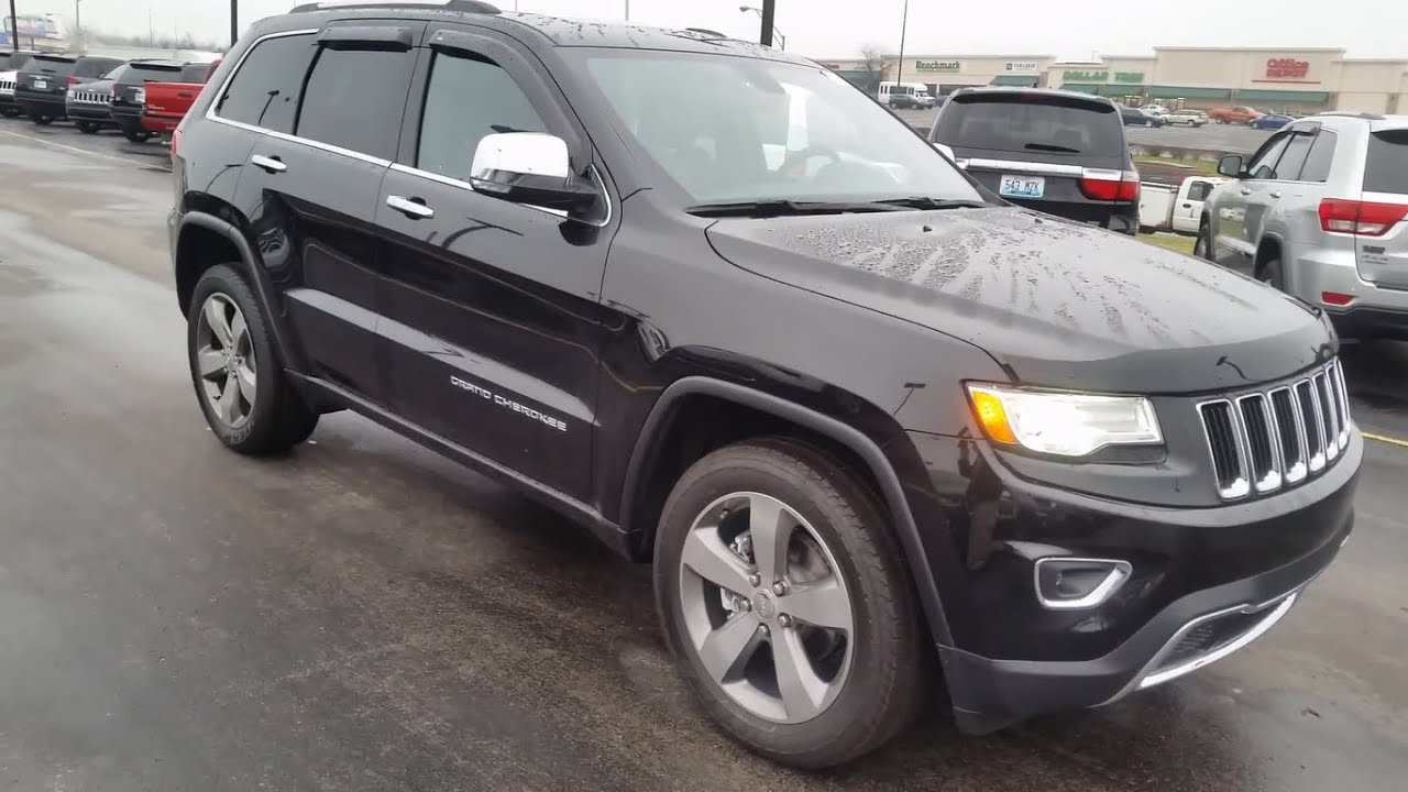 2015 jeep grand cherokee limited 4x4 walk around drive youtube. Black Bedroom Furniture Sets. Home Design Ideas