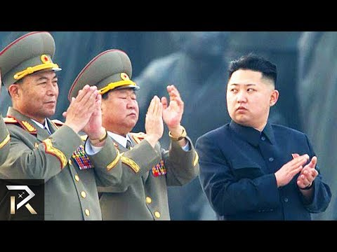 The MESSED UP Hierarchy Of The North Korean Army