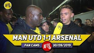 Man United 1-1 Arsenal | Leno Made A Fantastic Save To Stop Rashford's Free Kick!