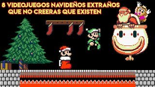 8 Videojuegos Navideños Tan Extraños que no Creerás que Existen - Pepe el Mago