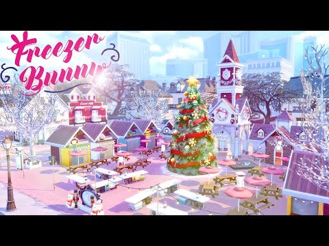 Christmas Market 🎄 🎅  | The Sims 4 | Speed Build | CC Free + Download Links thumbnail