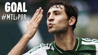 GOAL: Diego Valeri bends it in terrifically from distance | Montreal Impact vs. Portland Timbers