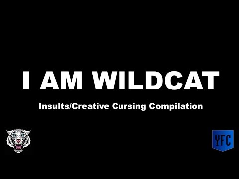 I AM WILDCAT Insults/Creative Cursing Compilation - Best of I AM WILDCAT