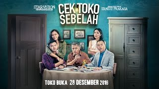Video CEK TOKO SEBELAH Official Trailer #1 (A Film By Ernest Prakasa) download MP3, 3GP, MP4, WEBM, AVI, FLV September 2018