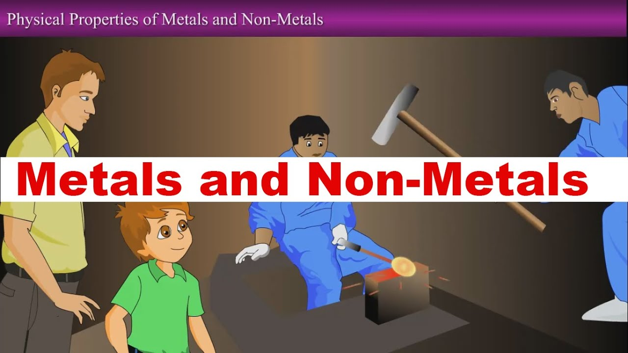 Metals and Non-Metals-Class-8th, VIII Science Animated ...