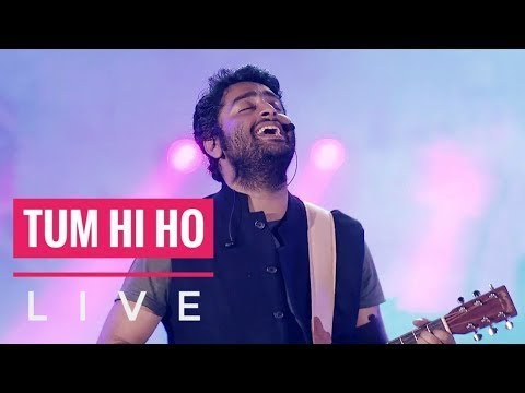 Tum Hi Ho - Live (Aashiqui 2) | Arijit Singh | MTV India Tour 2018 HD