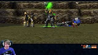 MONICZKA W WARCRAFCIE - Warcraft III: (Uthers Party)