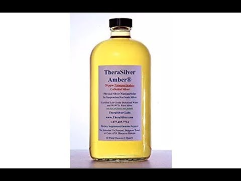 TheraSilver Amber Nanoparticulate Colloidal Silver Unboxing and Review