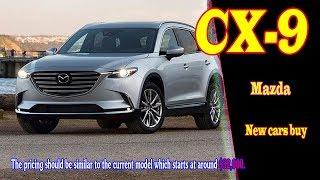 2019 mazda cx 9 grand touring | 2019 mazda cx 9 diesel | Interior, Exterior Design & Driving ...