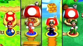 Evolution of Toad Houses in New Super Mario Bros. (2006-2020)
