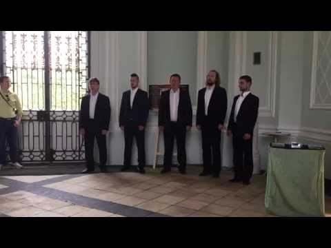 Russian Male Choir - Song of Volga Boatmen Acapella - Catherine's Palace St. Petersburg
