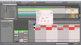 Ableton Live 003 Создание бас линии, сохранение проекта