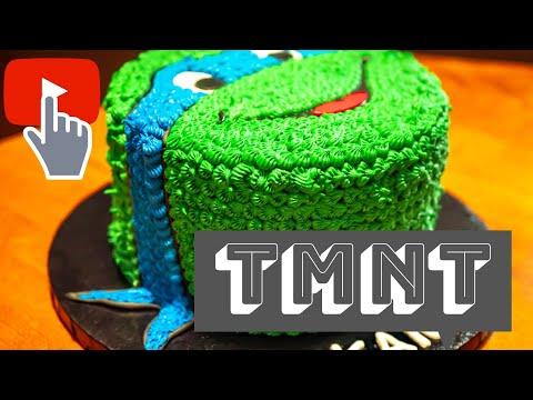 Teenage Mutant Ninja Turtle Cake TMNT Birthday Cake