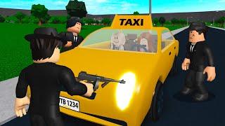 I Drove A Taxi.. Customers Robbed Me! (Roblox Bloxburg)