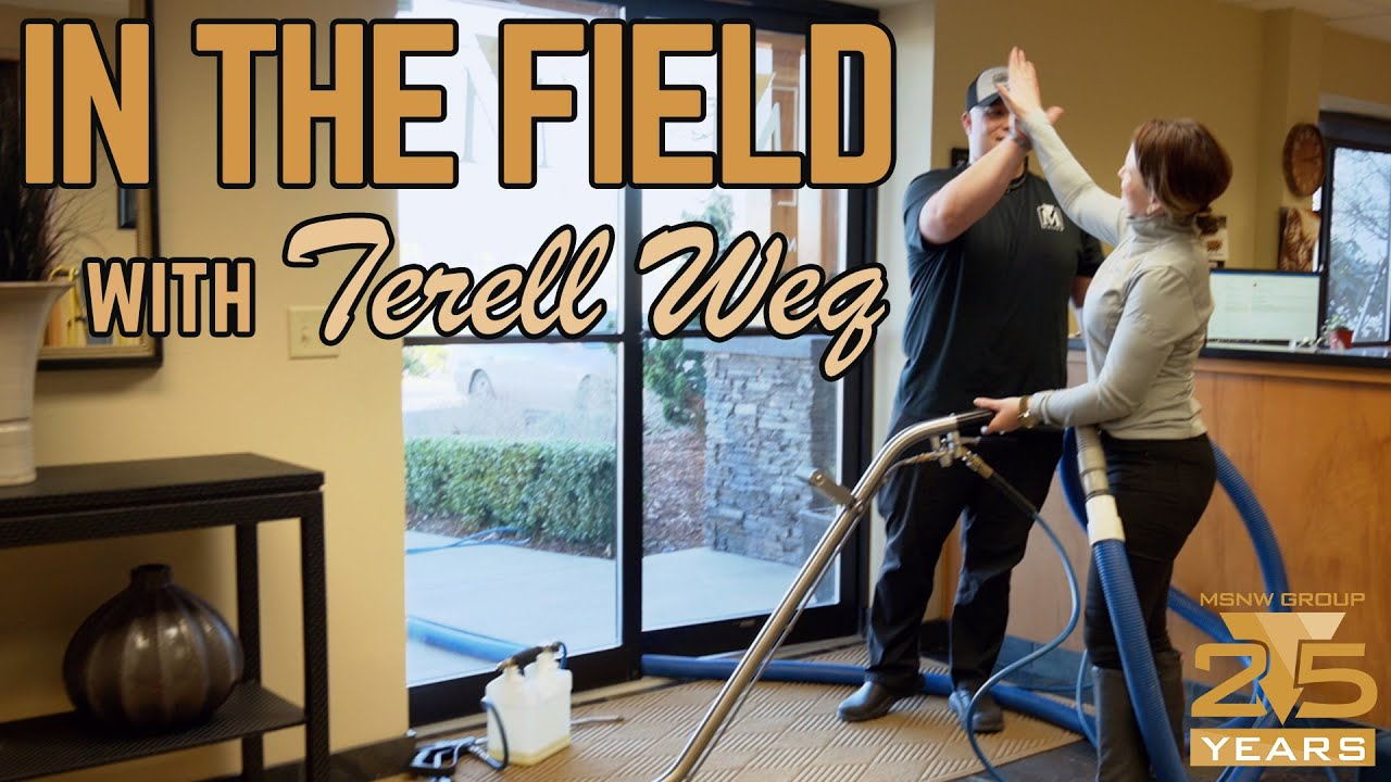 In The Field: Terell Attempts A Carpet Extraction (Episode 4)