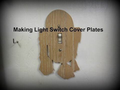 Making a Light Switch Cover Plate