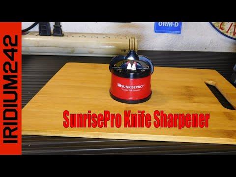 SunrisePro Knife Sharpener!