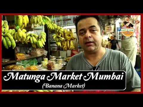 Matunga Market Mumbai (Local Banana Market) | Uses of Banana in Food Recipes