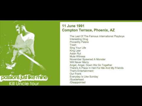 MORRISSEY - June 11, 1991 - Phoenix, AZ, USA (Full Concert) LIVE