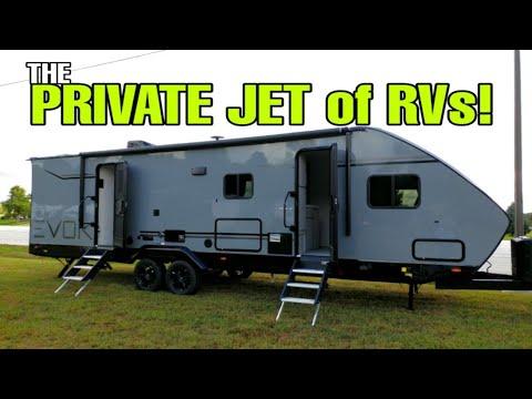 PRIVATE JET Of RVs!  EVOKE From Travel Lite RVs! EVOKE Model C