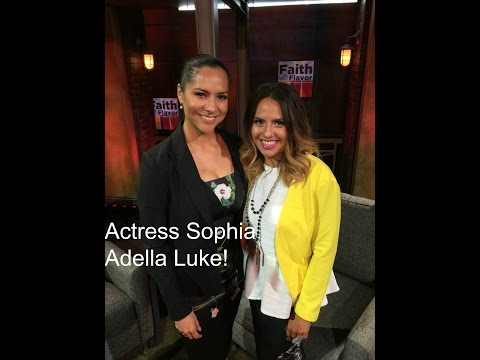 Faith With Flavor  Actress Sophia Adella Luke