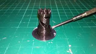 Make: Rook - 2015 3D Printer Shoot Out Test Models - PETG