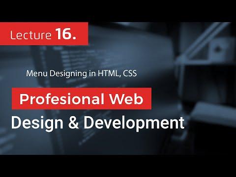 Menu Designing In HTML, CSS (16)