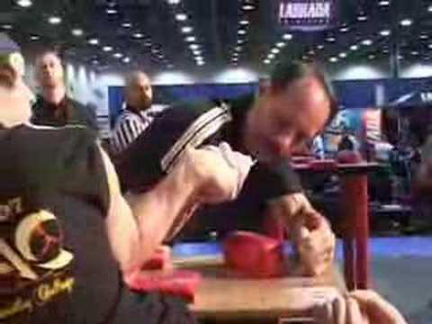 Allen Fisher - 26 Time World Arm Wrestling Champion