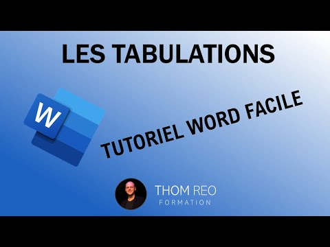 Les Taquets De TABULATION (Cours Microsoft Word)