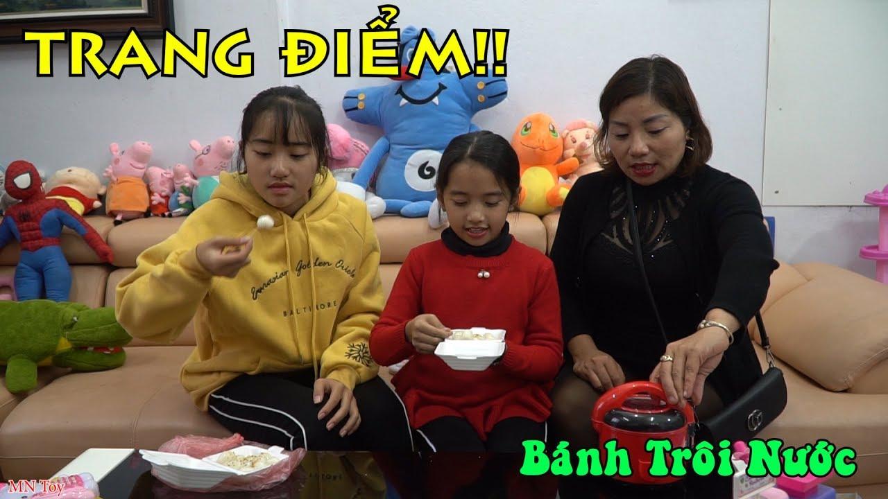 Thùy Giang Vừa Được Chị Hồng Anh Trang Điểm Lại Được Mẹ Mua Bánh Trôi và Nồi Cơm Điện Đồ Chơi