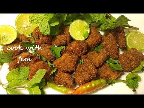 Chicken Popcorn - Indian Style    चिकन पॉपकॉर्न - इंडियन स्टाइल    With English Subtitles