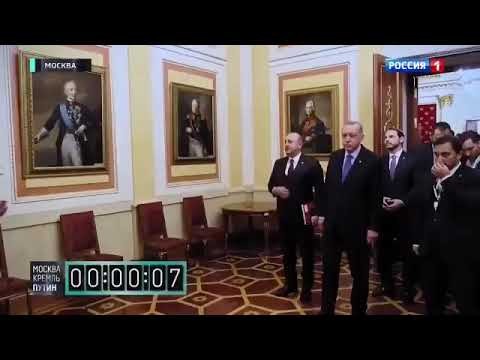Putin humiliated Erdogan and his entire entourage by making them ...