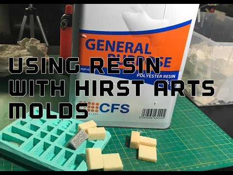 Using Resin With Hirst Arts Moulds/molds : Basic Casting Tips